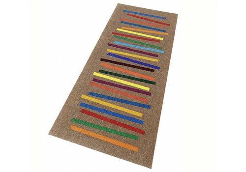 Kleen-Tex Mixed Stripes deurmat