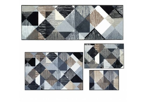 Kleen-Tex Lines and boxes voetmatten