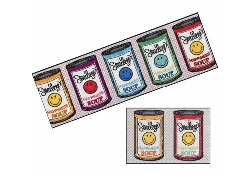 Kleen-Tex Smiley Happiness Soup deurmat