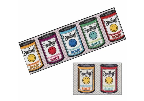 Kleen-Tex Smiley Happiness Soup paillasson