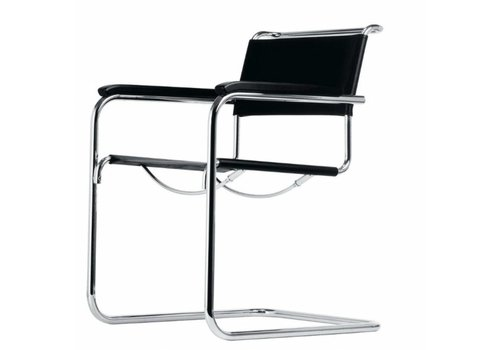 Thonet S34 chaise cantilever avec accoudoirs