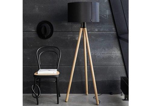 Daro Paso Wood 50 F1 staande lamp