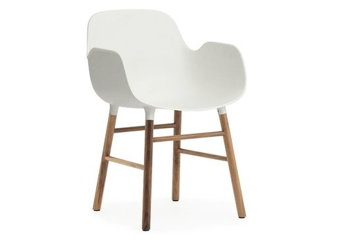 Normann Copenhagen Form armchair noyer