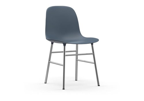 Normann Copenhagen Form chaise chromé