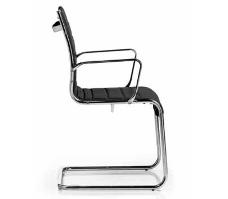 Elliot chaise visiteur cuir