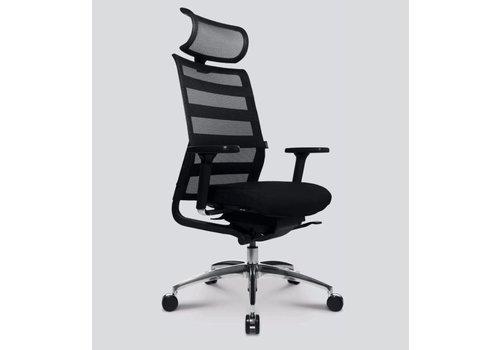 Wagner ErgoMedic 100-1 chaise de bureau avec appuie-tête