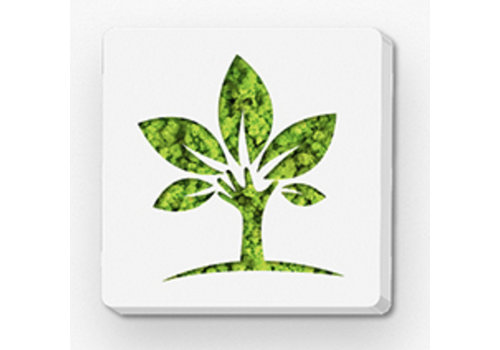 Green Mood Pictogram uit mos - Eco
