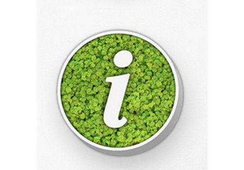 Green Mood Pictogramme en mousse - Info circle
