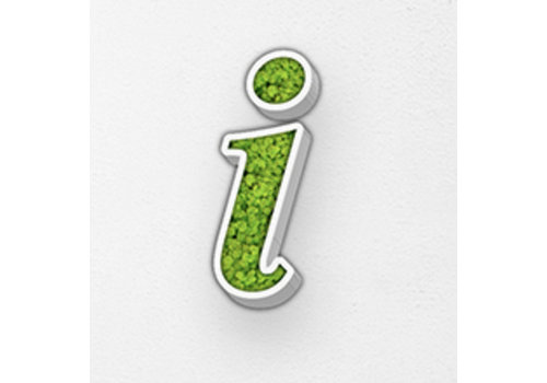 Green Mood Pictogram uit mos - Info
