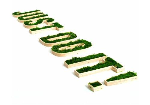 Green Mood Gepersonaliseerde logo's uit mos