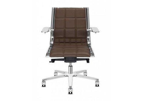 Sitland Sit On It bureaustoel - leder
