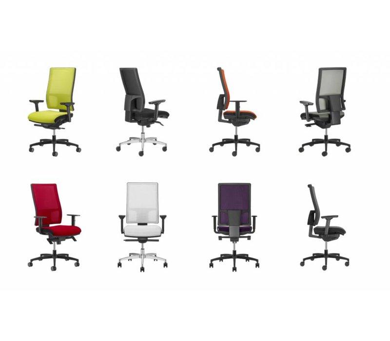 mesh line fauteuil de bureau ergonomique brand new office. Black Bedroom Furniture Sets. Home Design Ideas