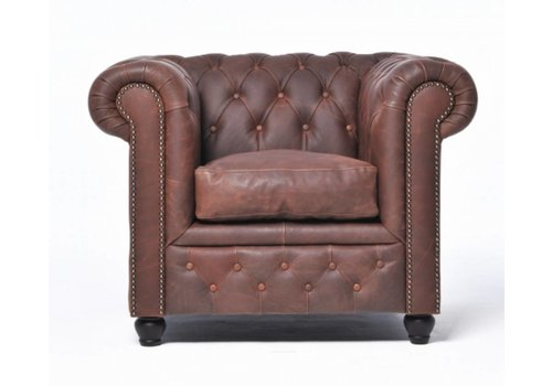 Chesterfield Vintage fauteuil