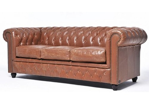Chesterfield Vintage sofa 3-places