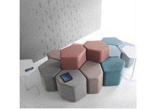 Mdd Bazalto modulaire poef