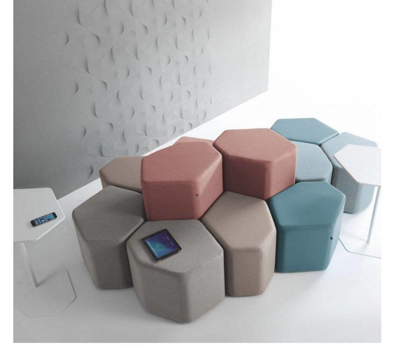 Bazalto modulaire poef