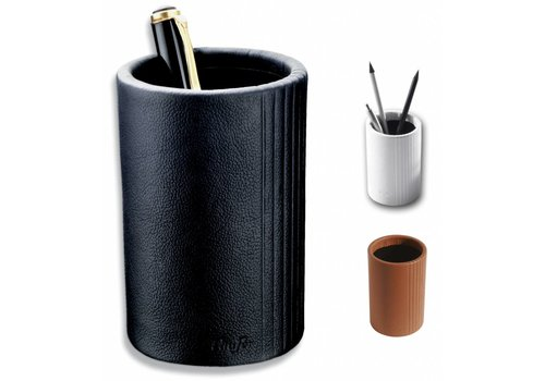 Läufer Pot à crayon La Linea cuir