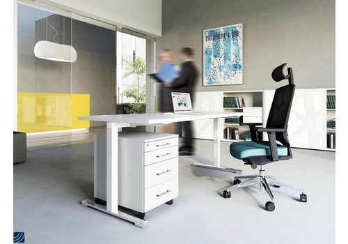 achat bureau r glable en hauteur et en longueur brand new office. Black Bedroom Furniture Sets. Home Design Ideas