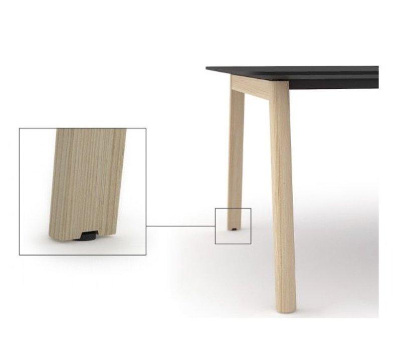 Nova wood vergadertafel