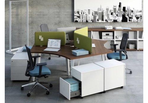 Achat bureau en îlots et bureau bench brand new office