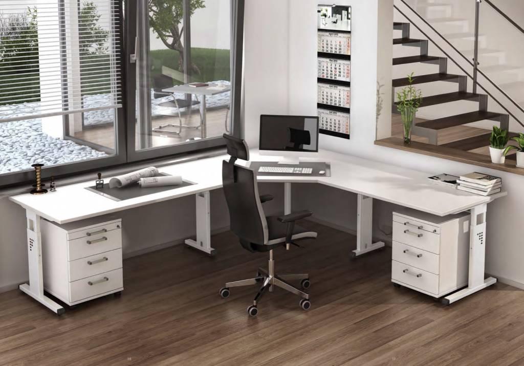 bureau officina r glable en hauteur brand new office. Black Bedroom Furniture Sets. Home Design Ideas