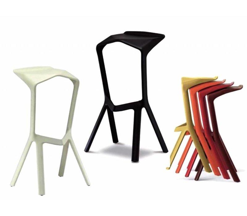 plank miura barkruk brand new office. Black Bedroom Furniture Sets. Home Design Ideas