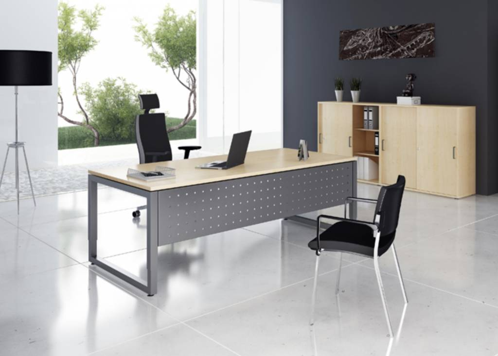 ergonomic plus bureau brand new office. Black Bedroom Furniture Sets. Home Design Ideas