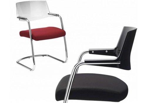 Sitland Pass chaise de réunion en cuir ou tissu