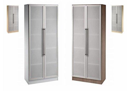 BNO Armoire Officina avec portes vitrées