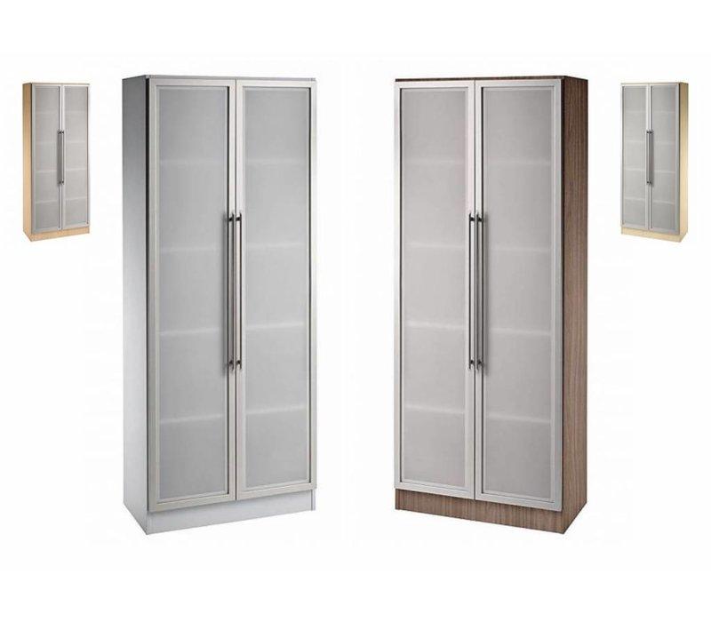 Armoire Officina avec portes vitrées