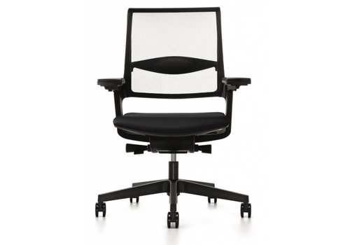 Interstuhl MOVYis bureaustoel zwart