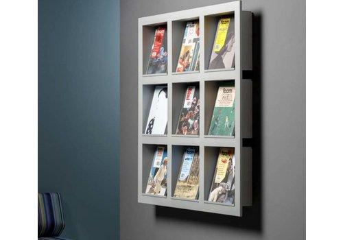 Cascando Frame porte-brochures mural