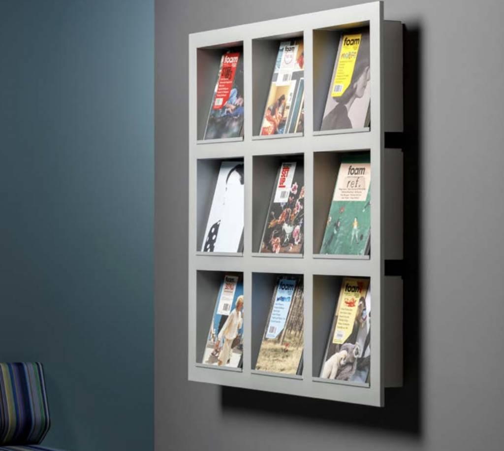 frame porte brochures mural brand new office. Black Bedroom Furniture Sets. Home Design Ideas