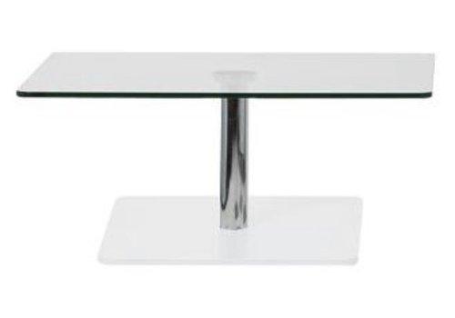 Cascando Flow table de salon en verre