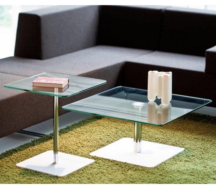 Flow table de salon en verre brand new office - Table salon en verre ...