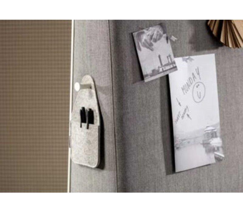 Trunk mobiele scheidingswand /whiteboard