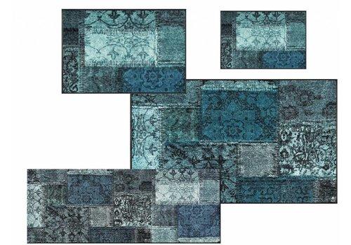 Kleentex Vintage Patches türkis tapis de sol