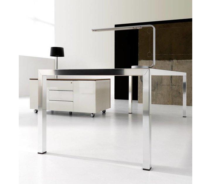fly bureau de direction en verre brand new office. Black Bedroom Furniture Sets. Home Design Ideas