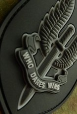 Jackets To Go Velcro patch JTG Who Dares Wins - SAS Blackops JTG.SAS.bo