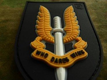 Jackets To Go Velcro patch JTG Who Dares Wins - SAS Fullcolor JTG.SAS.fc
