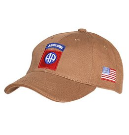 Baseball cap 82nd Airborne Khaki 215151-224