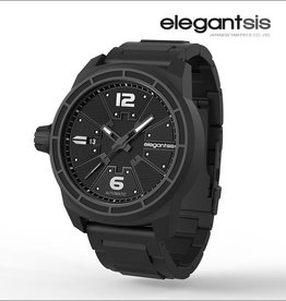 Elegantsis Fighter Jet Automatic Watch/Stainless Steel Polsband Zwart/Frame Zwart/JF48A-8B02MA