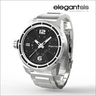 Elegantsis Fighter Jet Automatic Watch/Stainless Steel Polsband Steel/Frame Steel/JF48A-8B01MA