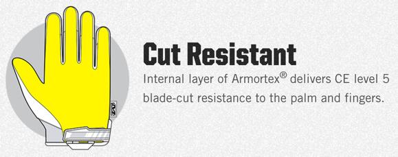 Mechanix-Wear CR5 Covert Cut Resistant Black
