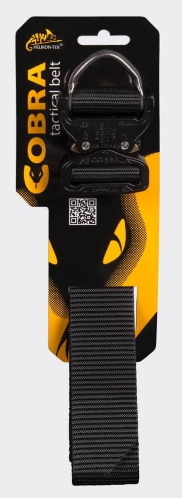 Helikon-Tex COBRA D-Ring (FX45) Tactical Belt - Black