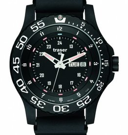 Traser Watches Horloge Elite Red P6600 zwart