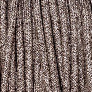 Murray Textielsnoer -linnen bruin-