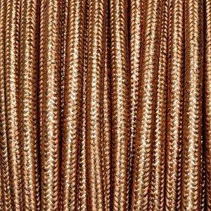 Murray Textielsnoer -glanzend koper-