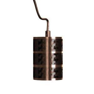 Calex Pendel metaal E40 -brons-