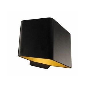 Murray Wandlamp CARISO -zwart/goud-